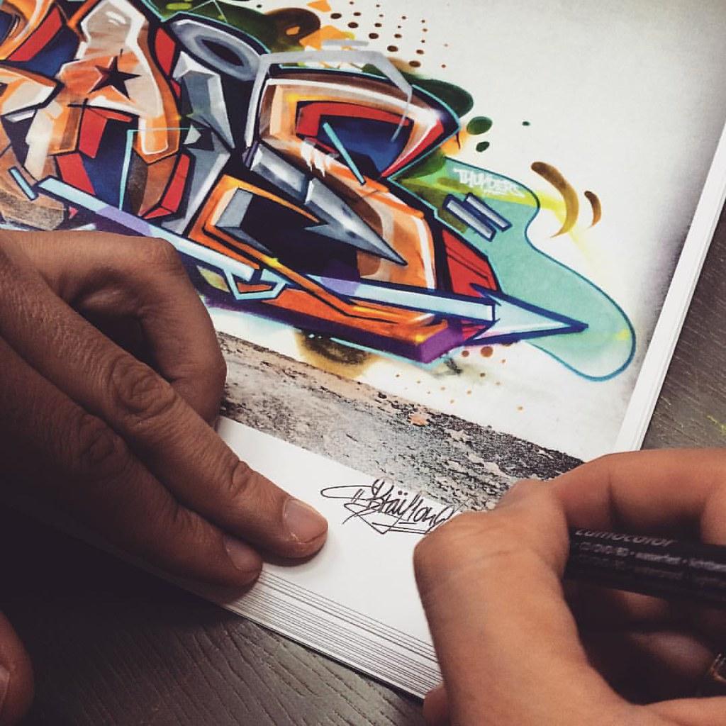 Graffiti series limited edition print brais 1 35 free shipping cost www bray1 pt