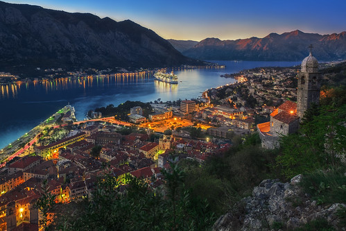 ocean city travel cruise sunset sea seascape mountains me sunrise landscape bay europe ship view baltic oldtown fortress adriatic montenegro kotor