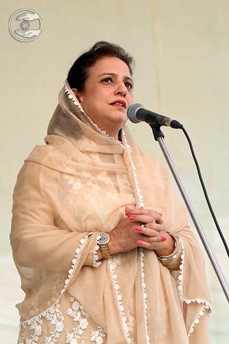 Sunita Arora from Greater Kailash, Delhi, expresses her views