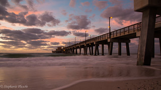 Sunrise at Gulf State Park Pier | by stephaniepluscht