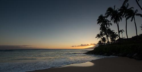 sunset usa beach silhouette america hawaii paradise unitedstates maui calm lahaina sigma1020mm napilibay sonydslra65