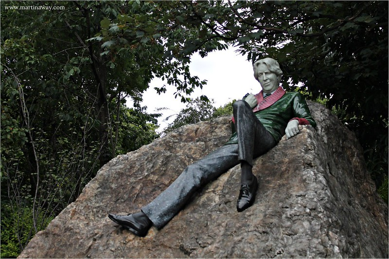 Oscar Wilde @ Merrion Square, Dublino