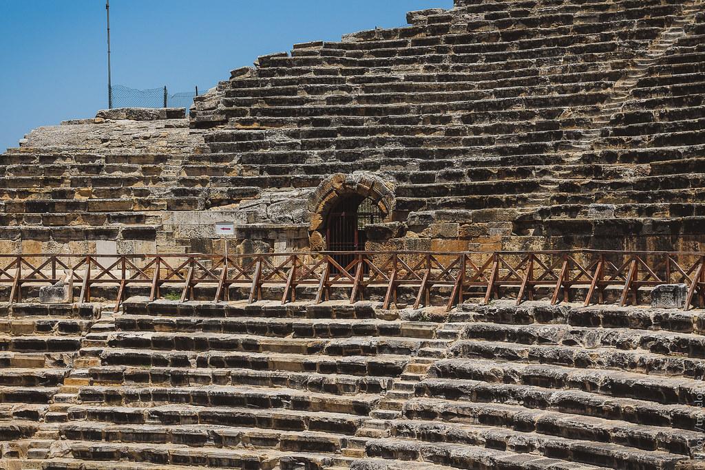 Hierapolis Theatre Pamukkale / Театр Иераполиса, Памуккале