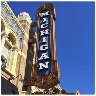 The Michigan Theater. #annarbor #Michigan #theater | by ToddinNantou