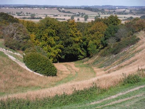 Valley in Sundon Hills SWC Walk 230 Harlington to Flitwick