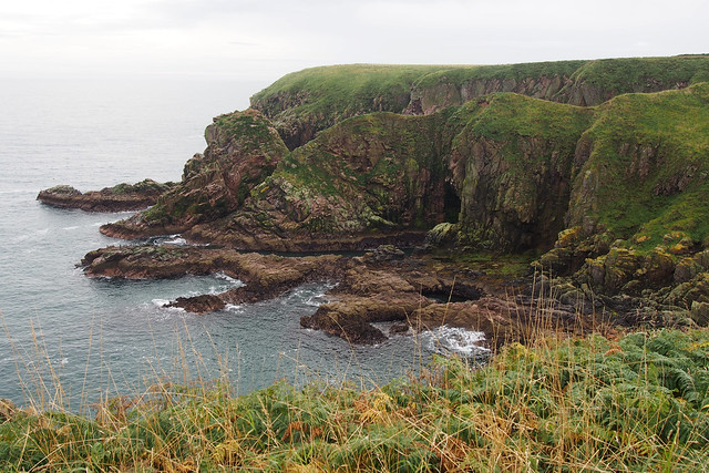 The coast at Bullers of Buchan