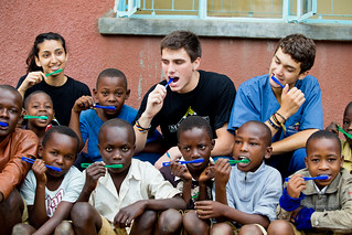 Tanzania-Everyone Brushing Teeth | by medlife.mcgill