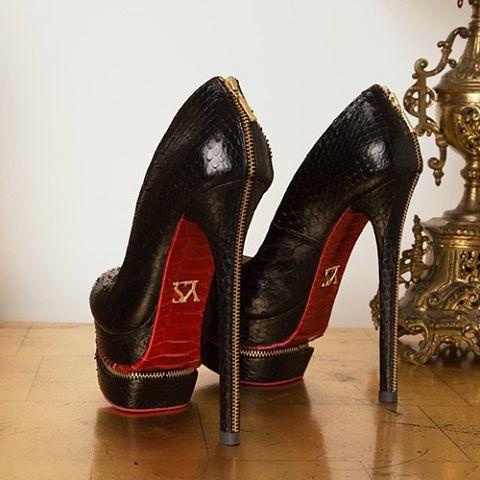 sports shoes 4bc4e b0e19 Black pumps red soles, heels by @yaroseshulzhenkoworld @ya ...