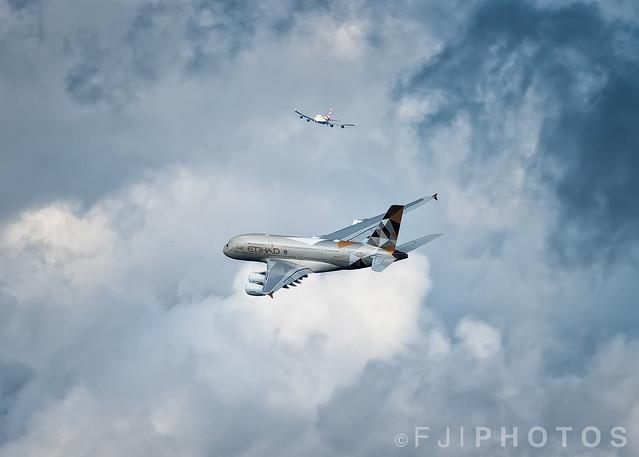 A6-APB | A380-800 | Etihad | London Heathrow | August 2015