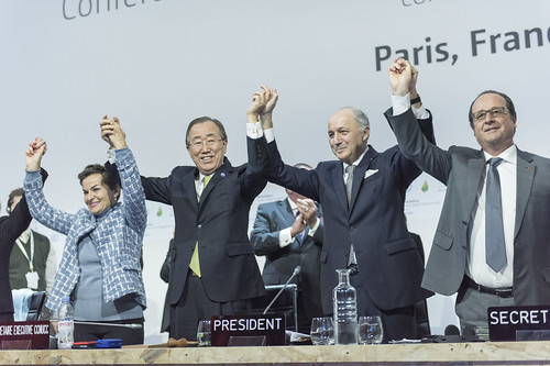 Closing Ceremony of COP21, Paris   by United Nations Photo
