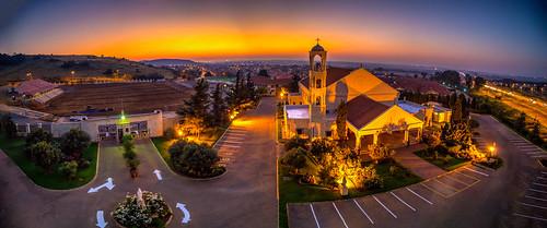 lebanon maronite church catholic patriarch mulbarton panoramic johannesburg pano panorama southafrica outdoor sunrise sunset colours dawn dusk hdr sky clouds street nikon