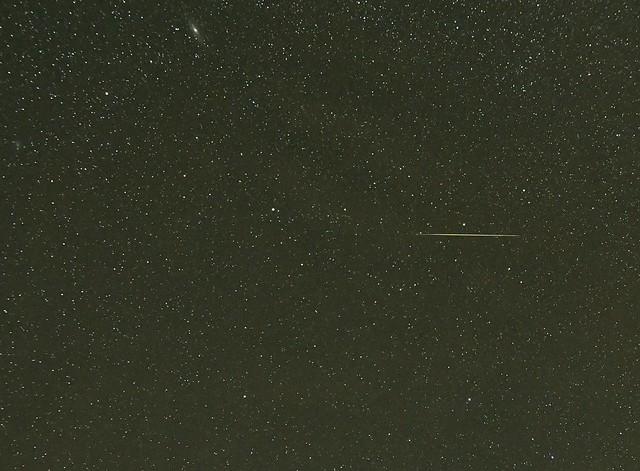 Meteor in Pegasus
