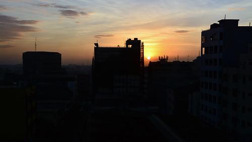 kenya africa travel nairobi capitol sunrise city cityscape