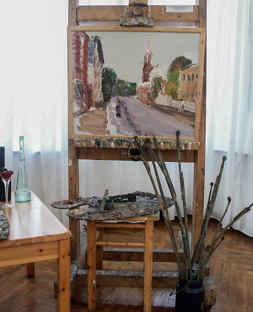 Viktor Sorokin's (1912-2001) unfinished last work, 2001