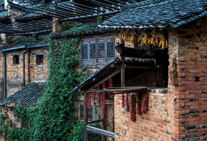 Huangling Village 篁岭农居