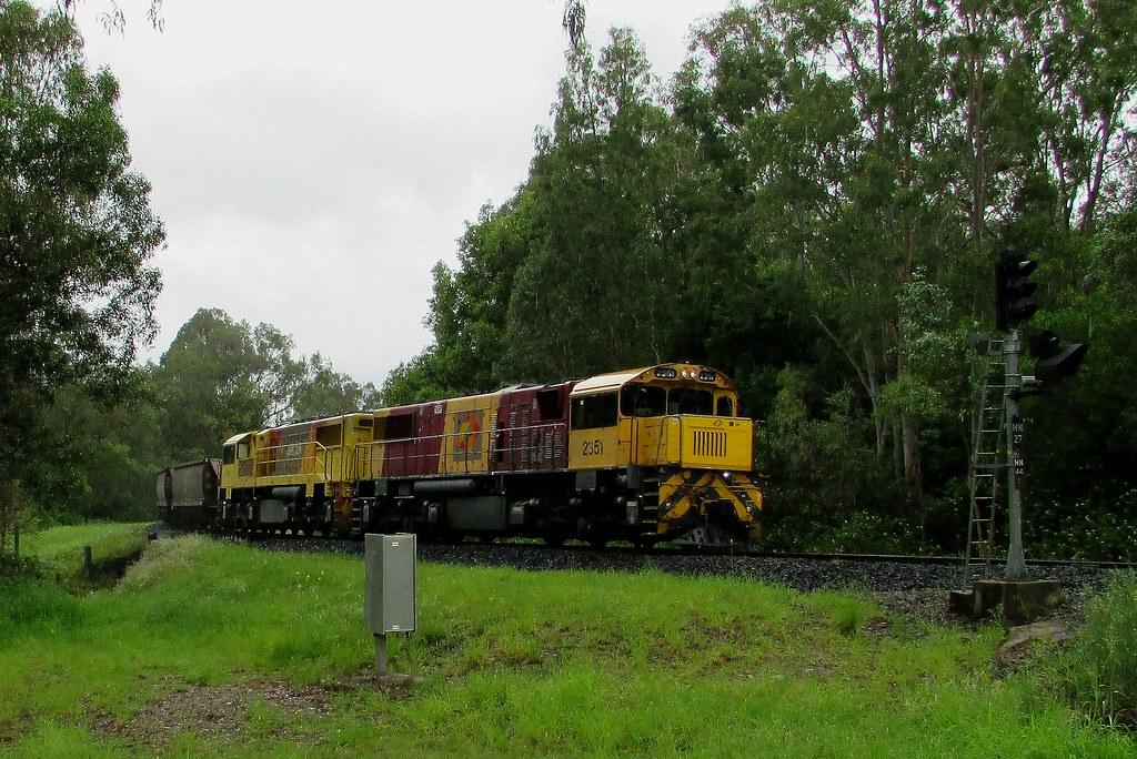 Aurizon - Empty Coal Service, Helidon QLD by Shawn Stutsel