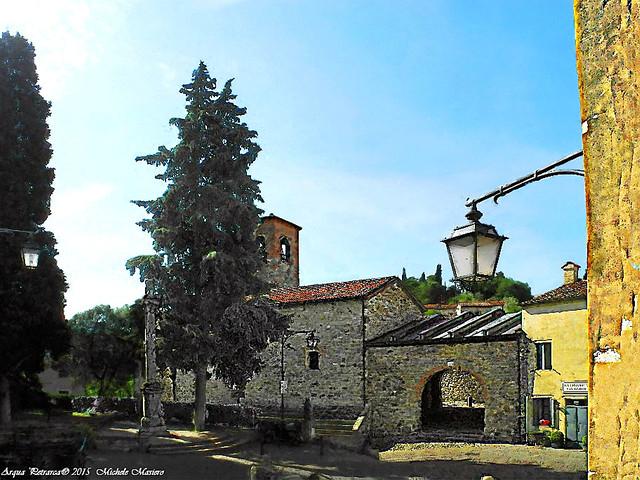 Arquà Petrarca:Il Borgo