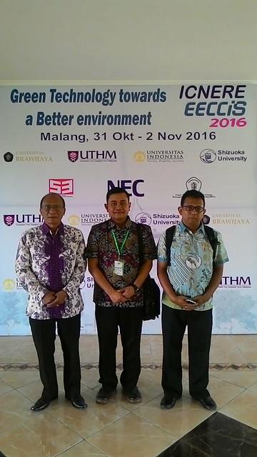 Our research group: Mangaraja Longgam Saragi, Anak Agung Ngurah Gde Sapteka, Anak Agung Ngurah Made Narottama.