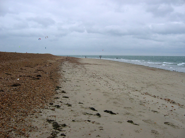 The beach at West Town, Hayling Island