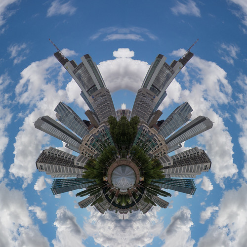 Frankfurt little planet