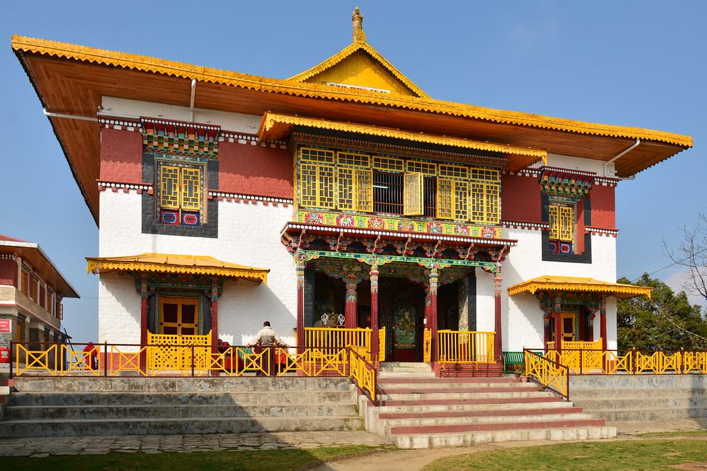 India - Sikkim - Pelling - Pemayangtse Monastery - 23