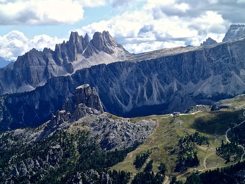 22 - Shot from the summit of Torre Grande di Falzarego.