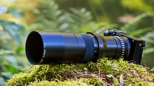 Carl Zeiss Jena Prakticar 300mm ƒ/4 MC
