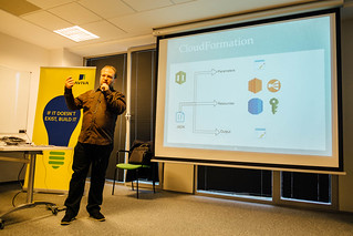 AWS User Group Poland Meeting #8 in Warsaw   by Danilo Poccia