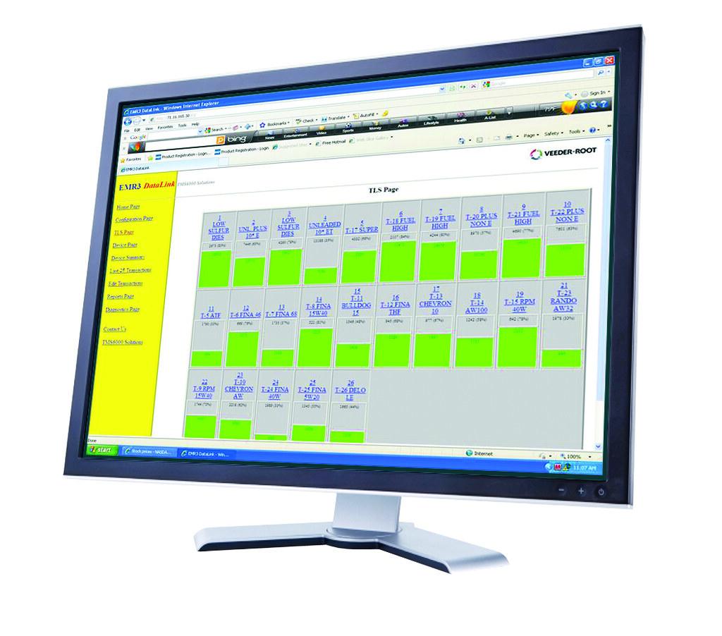 Datalink Screen   EMR3 Data Link Software   Gilbarco Veeder-Root
