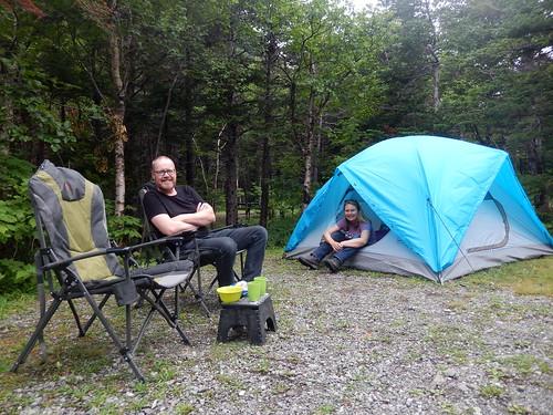 Blow-Me-Down Provincial Park - tent