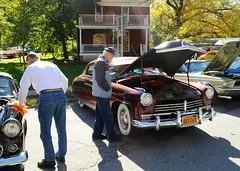Ballston Spa Car Show: 1949 Hudson