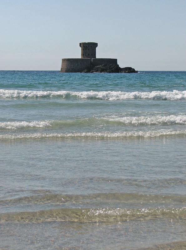 Martello Tower off St Ouen's Bay