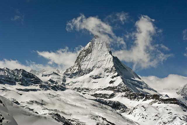 Happy Christmas ; Welcome to The Matterhorn , Cervin, Cervino. No. 4187.