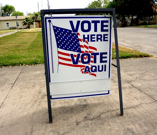 Vote Here Sign | by Jay Phagan