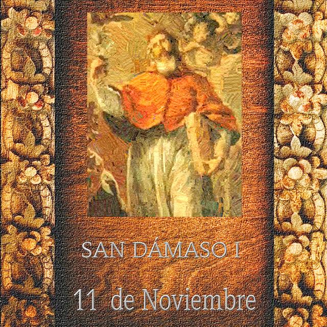 SAN DÁMASO I.(†Dedicado  al P.Cotallo)