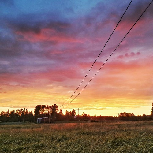 sunset summer field suomi finland square finnland farm squareformat scandinavia finlandia フィンランド finlande finlândia finnország finlanda finlàndia финляндия finnlando iphoneography instagramapp uploaded:by=instagram