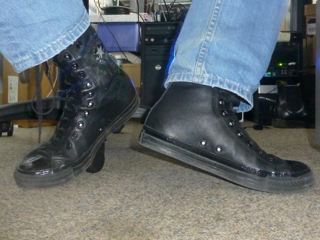 2converse leather 36