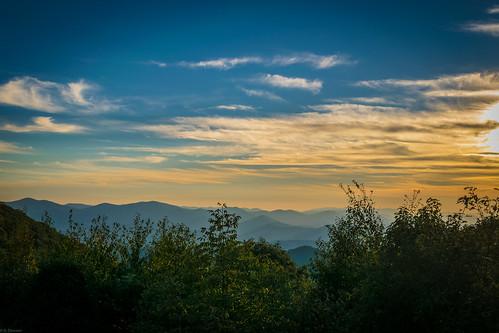sunset mountains nature ga georgia landscape unitedstates north bald observatory appalachian brasstown beatuiful blairsville