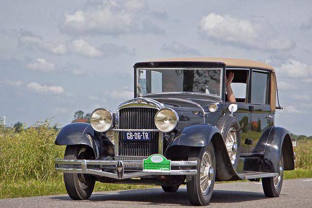 Hudson Super Six Series O Convertible Coupé 1929 (8678)