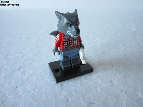 Lego Minifigures S14 loup garou p1