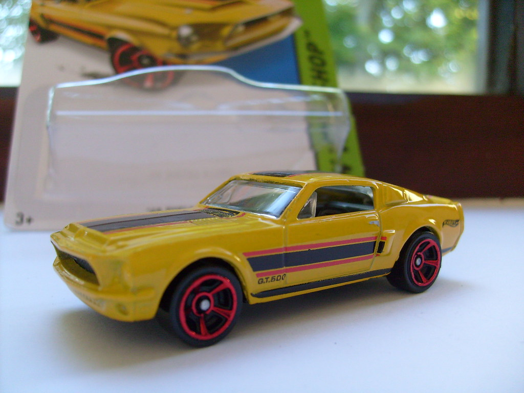 Hot wheels 1968 ford mustang shelby gt500 no6 1 64 by ambassador84 over 13
