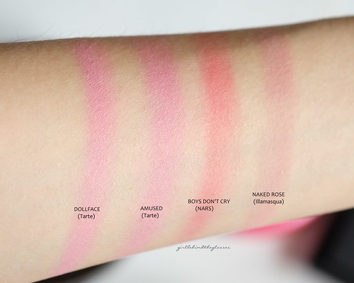 Pink blushes swatches1 | by <Nikki P.>