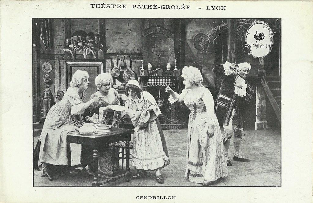 Image result for cinderella silent film 1907 albert capellani