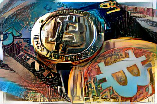 Bitcoin Mittelmeerlandschaft | by zcopley