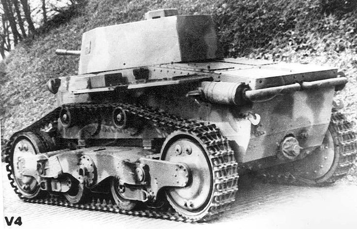 Hungarian Light Tank v-4