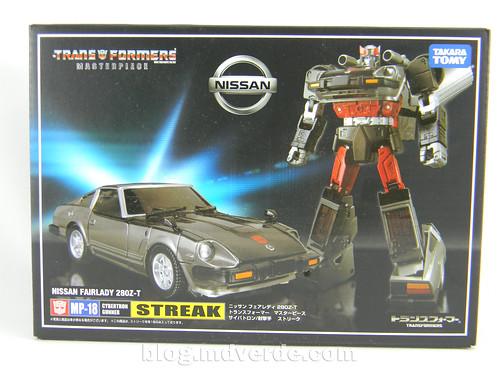 Transformers Streak - Masterpiece - caja   by mdverde