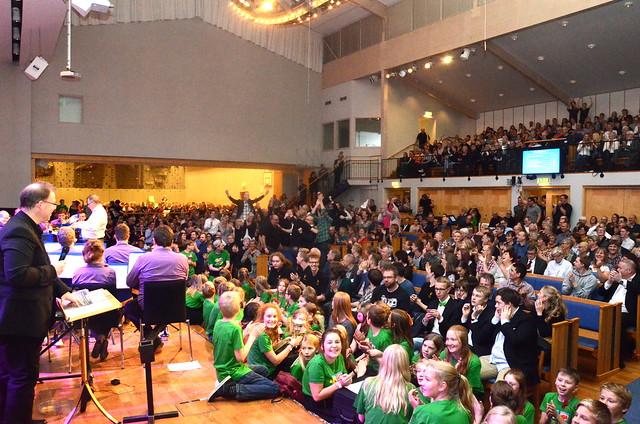 Vinnare i Division 1: Åsenhöga Brass Band