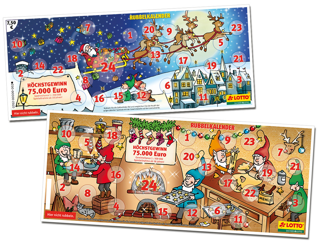 Lotto Rubbelkalender
