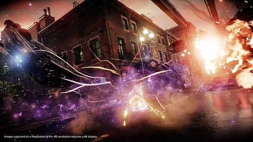 Infamous First Light, PS4 Pro | by PlayStation.Blog