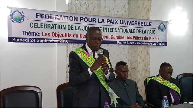 Congo-Brazzaville-2016-09-24-International Day of Peace Observed in Pointe-Noire, Congo